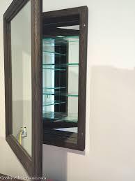 Restoration Hardware Mirrored Bath Accessories by Decor Mirrorless Medicine Cabinet Medicine Cabinet Recessed