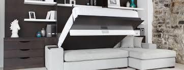 armoire lit canapé escamotable lit armoire escamotable design
