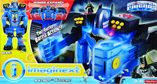 Halloween Voice Changer by Apr178221 Imaginext Dc Super Friends Batman Battlebot Previews