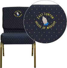 Embroidered TYCOON Series 21''W Stacking Church Chair In Navy Blue Dot  Patterned Fabric - Gold Vein Frame 21w Church Chair In Dark Gray Fabric Silver Vein Frame Emmanuelle Chairs And Tables Rental Services 136 Photos Ppt Burgundy 21 Wide Discount Folding Chair 47 Stunning Lifetime And 2997 8foot Commercial Table Features A 36piece White Outdoor Safe Stackable Set 8 Foldinhalf Almond 80175 All You Need To Know About Wedding Decorations Bridestory Blog 6 Granite Walmartcom Home Facebook