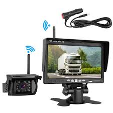 100 Rear Camera For Truck Amazoncom Wireless Backup And 7 HD LCD Monitor Kit RV