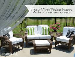 Martha Stewart Living Replacement Patio Cushions by Diy Painted Outdoor Cushions And A Finishmax Pro Giveaway 11
