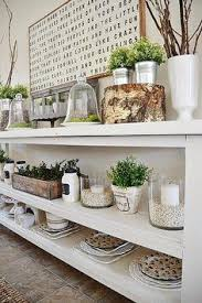 Diy Buffet Table Lovely Floating Shelves In The Dining Room Dream Home