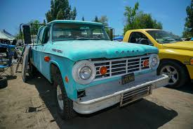 Every Dodge & Ram Truck At 2016 Spring Fling! - Hot Rod Network 1965 Dodge D100 Beater By Tr0llhammeren On Deviantart Kirby Wilcoxs Short Box Sweptline Pickup Slamd Mag Hot Rod Network A100 5 Window Keep On Truckin Pinterest File1965 11304548163jpg Wikimedia Commons D700 Flatbed Truck Item A6035 Sold February Nickelanddime Diesel Power Magazine Used Truck Emblems For Sale High Tonnage Gasoline Series C Ct Sales Brochure Vintage Intertional Studebaker Willys Othertruck Searcy Ar Ford With A Ram Powertrain Engine Swap Depot