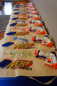 Host A Fun Filled Nerf Gun Party For Your Adventurous Birthday Boy Love This