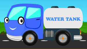 100 Trucks For Toddlers Water Tanker Learn Vehicle City Vehicle For Kids