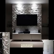 stein als verkleidung einer tv rückwand besonderheit