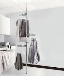 how to make tension rods for vertical clothes racks clothes