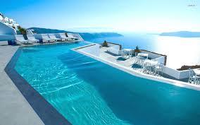 100 Santorini Grace Hotel Greece Pool Wallpaper Beach Wallpapers 26450