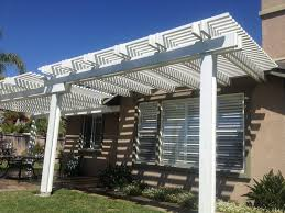 Louvered Patio Covers San Diego by Outdoor Patio Roof Covers Tags Awesome Alumawood Pergola