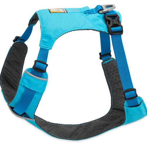 Ruffwear Hi & Light Dog Harness - Blue Atoll