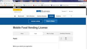 100 Food Truck License Nyc How To Apply For Mobile Food Vendor License NYC YouTube