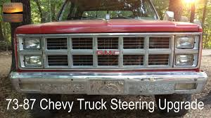 73-87 Chevy/GMC Truck Steering Upgrade - Jeep Cherokee XJ Steering ... Laramie Gm Auto Center In Wy Cheyenne Chevrolet Buick Gmc Sierra Windshield Decal Ebay Motors Parts Accsories Car Dans Garage Chevy Truck 731987 Door Weatherstrip Seal Install Youtube Flashback F10039s New Arrivals Of Whole Trucksparts Trucks Or Used Dealer Akron Near Cleveland Oh Vandevere All 7387 And Special Edition Pickup Part I 7387com Dicated To Full Size Trucks Suburbans Vannatta Fabrication Chip Banks Du Quoin Carbondale Il