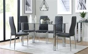 Glass Dining Room Furniture Adorable Home Design Remodel Sets At Table Chairs