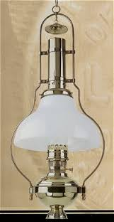 Aladdin Mantle Lamp Model 23 by Aladdin Lamps Deluxe Brass Hanging Lamp With White Shade Bh210