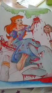 Coloring Book Corruptions Ariel