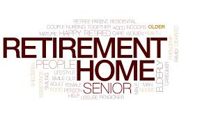 Retirement Home Animated Word Cloud Text Design Animation Kinetic Typography Motion Background
