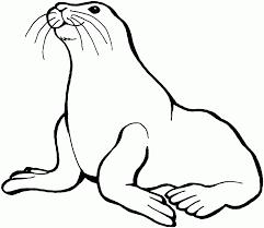 Seal Clipart Black And White ClipartXtras
