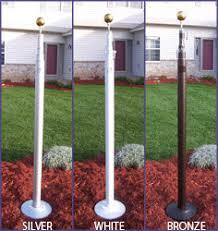 Flagpole Christmas Tree Kit White by Telescoping Flag Pole Indoor Flagpoles Flagpole Lighting Flag