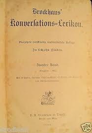 brockhaus konversations lexikon 14 auflage 2 band 1894 konversationslexikon ebay