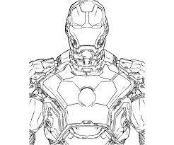 Printable Iron Man 4 At Coloring Pages Feel Free To Use With High Quality Resolutions For Your Disney Page