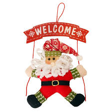 Amazoncom Adromy Christmas Door Decorations Santa Claus Christmas