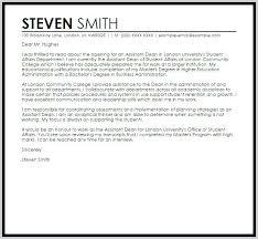 Higher Education Resume Sample Cover Letter For Ed Samples