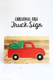 100 Sign Truck Christmas At Crafts Unleashed Minted Strawberry