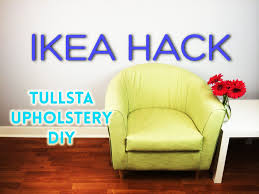 ikea hack diy tullsta upholstery youtube
