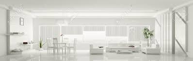 Home Interior Pics Modern Home Interior Der Weißen Wohnung Panorama 3d Render