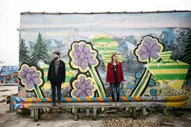 Kurt Vile Mural Philadelphia by Fishtown And Penn Treaty Park Engagement Julia And Kevin