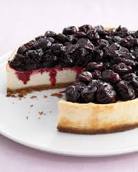 med 0108 cheescake Martha Stewart · Healthy Recipes Light Cherry Cheesecake