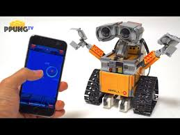 LEGO Wall E RC smartphone controlled toys set by 뿡대디