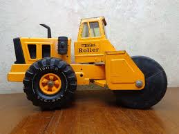 VINTAGE 1970S MIGHTY TONKA TOYS PRESSED STEEL LARGE ROLLER TRUCK 15 ...