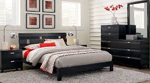 Gardenia Black 5 Pc Queen Platform Bedroom Queen Bedroom Sets Colors