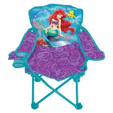 disney mermaid fold n go chair walmart
