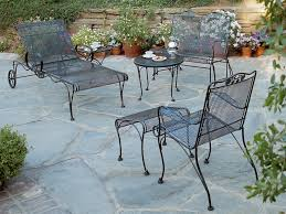 Vintage Wrought Iron Patio Furniture Cushions by Antique Wrought Iron Patio Furniture Cushions Home Design Ideas