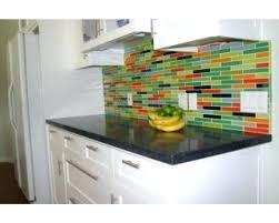 tiles multi colored subway tile backsplash mosaic backsplashes