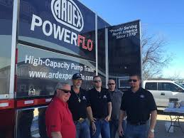 ARDEX POWERFLO Visits Professional Flooring Supply Sales Meeting