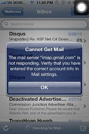 iPhone 4s Cannot Get Mail imapail