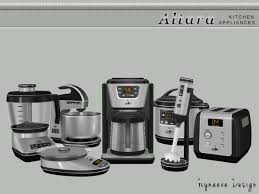 The Sims Resource Altara Kitchen Appliances By NynaeveDesign O 4 Downloads