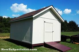 12x16 Storage Shed Plans by How To Build A 12x16 Shed Howtospecialist How To Build Step
