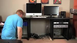 Setting Up Home Studio Desk Time Lapse