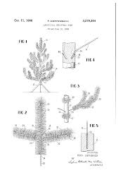 Puleo Christmas Trees by Patent Us3278364 Artificial Christmas Tree Google Patents