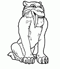 Free Printable Ice Age Coloring Pages For Kids Color This Online Pictures And Sheets A Book Of
