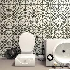 Home Depot Floor Tiles Porcelain by Merola Tile Arte White 9 3 4 In X 9 3 4 In Porcelain Floor And