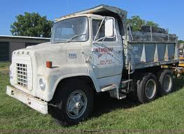 100 71 Ford Truck 19 6000 Dump Truck Item D5524 SOLD June 14 Const