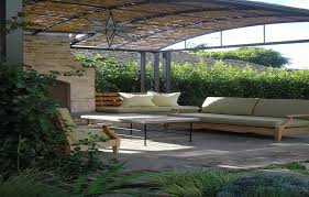 Aluminum Patio Covers Las Vegas by Awesome Metal Patio Cover With Mixed Natural And Metal Patio Cover