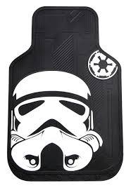 Plasticolor 001482R01 Star Wars Stormtrooper Automotive Floor Mat Set