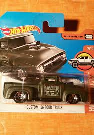 100 56 Ford Truck HOT WHEELS CUSTOM FORD TRUCK